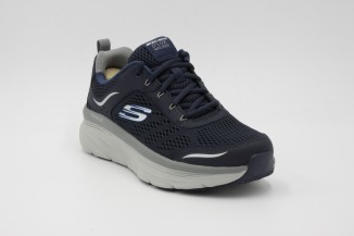 TENNIS SHOES SKECHERS RELAXED FIT: D'LUX WALKER 232044-NVGY