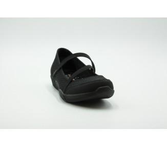 BALLETS FLAT SKECHERS BE-LUX - AIRY WINDS 100102-BBK
